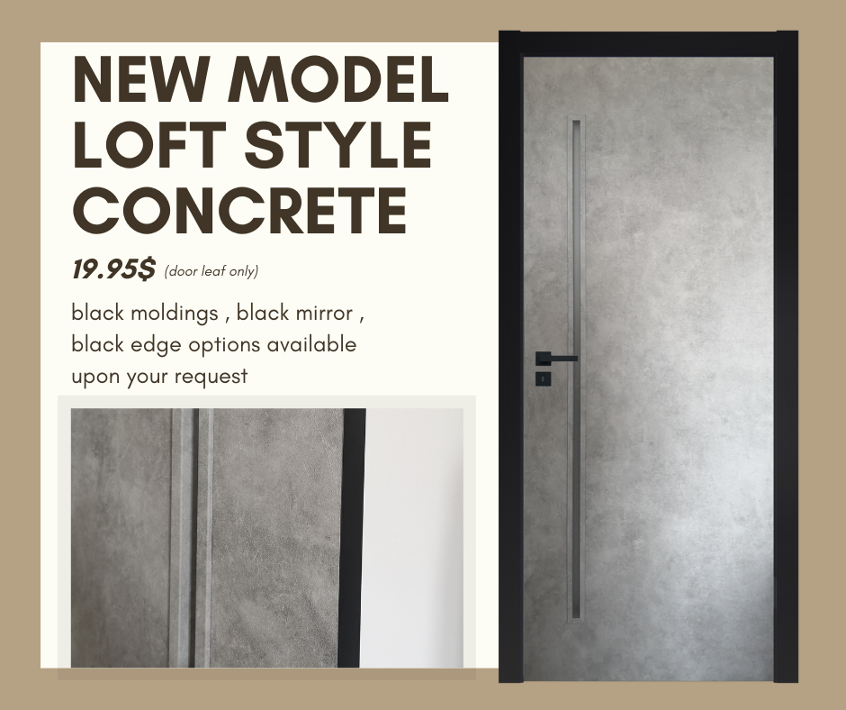 NEW MODEL LOFT STYLE CONCRETE